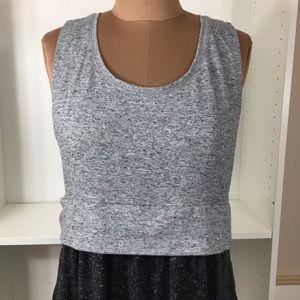 Victoria's Secret Gray Maxi Dress